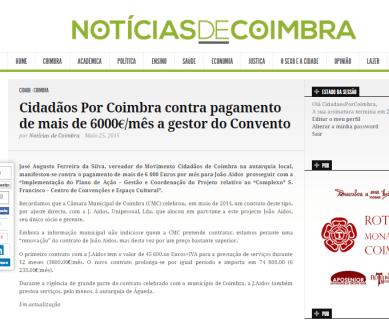 Notícias de Coimbra, 25 de Maio de 2015