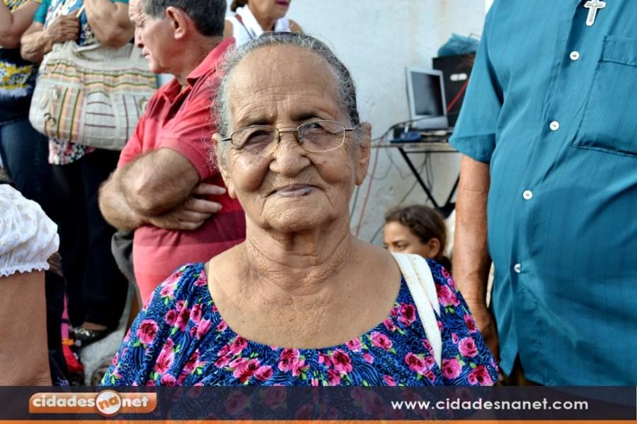 A aposentada Mônica Maria elogiou as melhorias implantadas