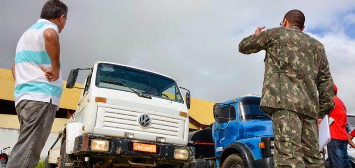 Exército recebe denúncias na operação carro-pipa e intensifica fiscalização  em municípios do Piauí