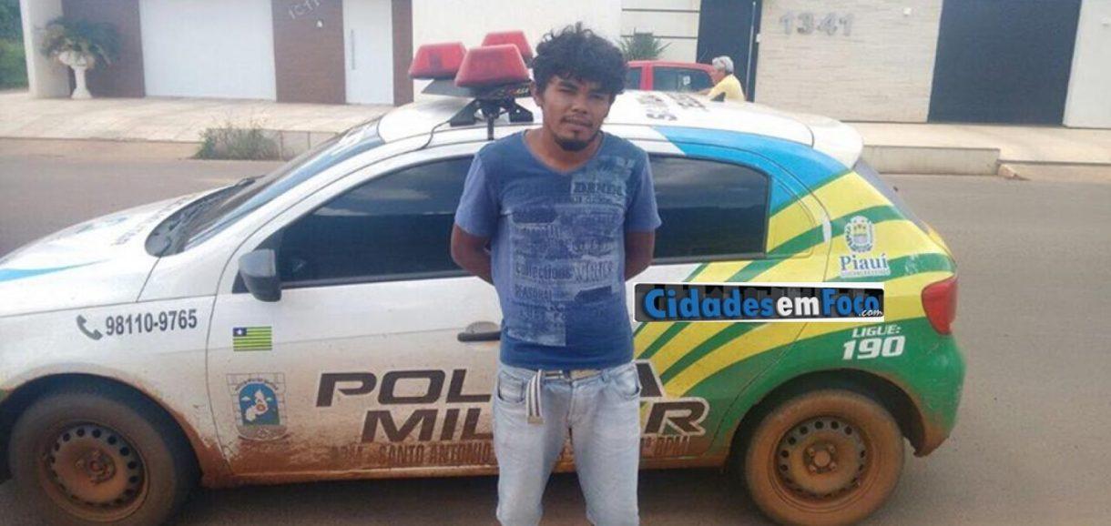 Homem agredido pelo irmão morre em hospital e agressor é preso em Santo Antônio de Lisboa