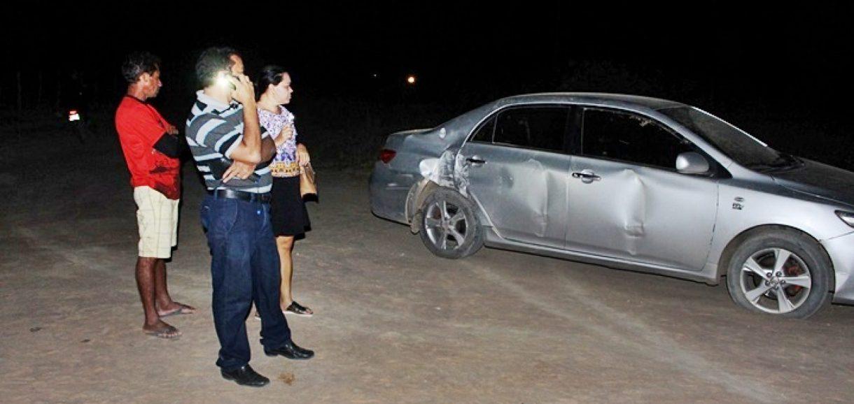 Ex-secretário de Cultura de Campo Grande do Piauí sofre acidente na BR-316; veja imagens