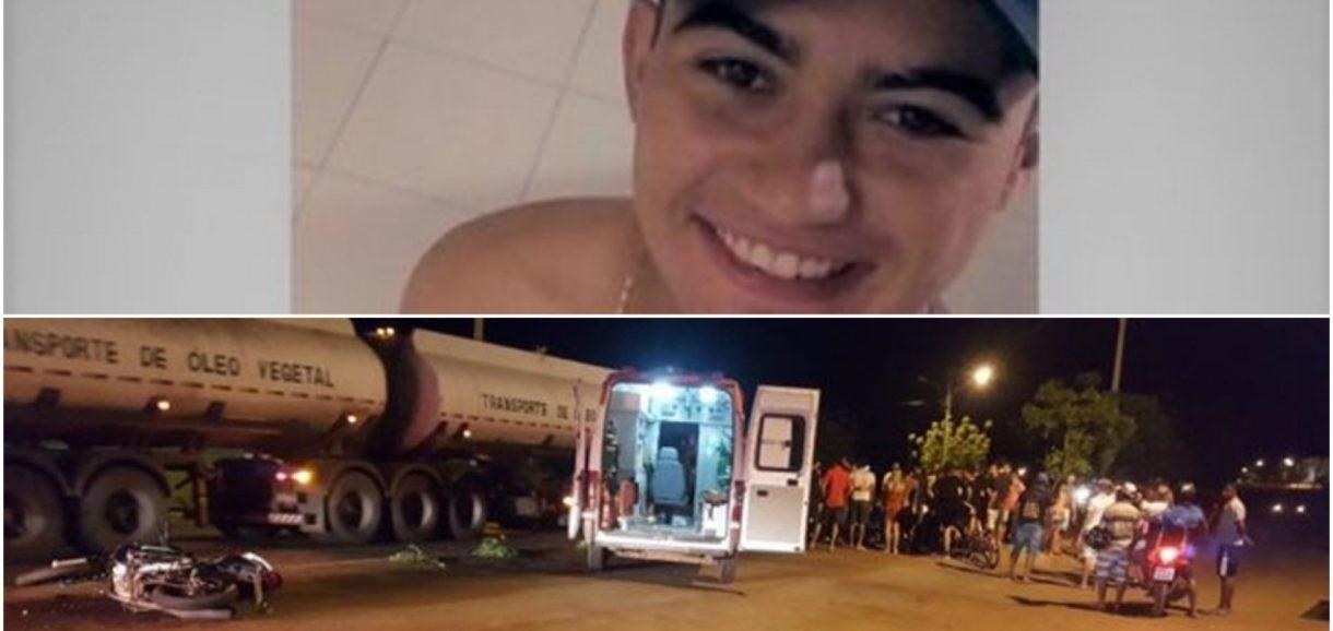 SIMÕES   Jovem morre em grave acidente de moto na cidade de Picos