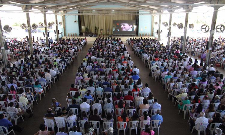 Registro do Congresso das Testemunhas de Jeová no ano passado (Foto:divulgação)