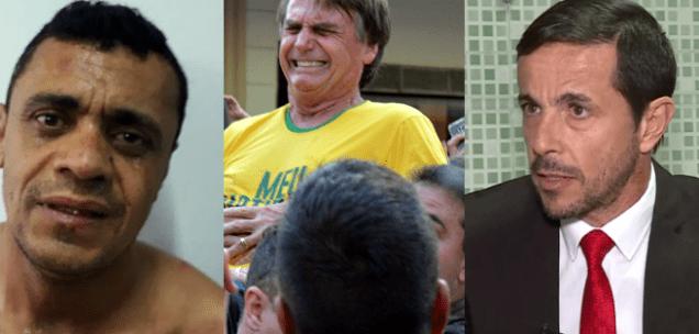 MISTÉRIO! Polícia Federal quer saber quem está pagando defesa de Adélio Bispo, o agressor de Bolsonaro