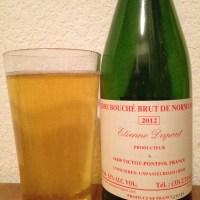 Cider Review: Etienne Dupont Cidre Bouché Brut de Normandie