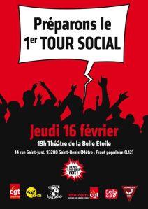 MEETING : Préparons le premier tour social ! @ La Belle Etoile | Saint-Denis | Île-de-France | France