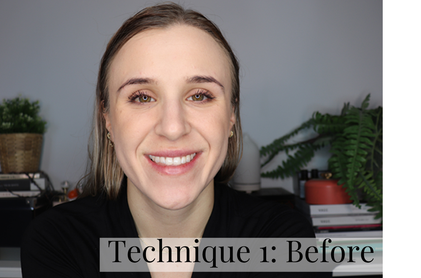 ABH Dip Brow Technique 1 Before
