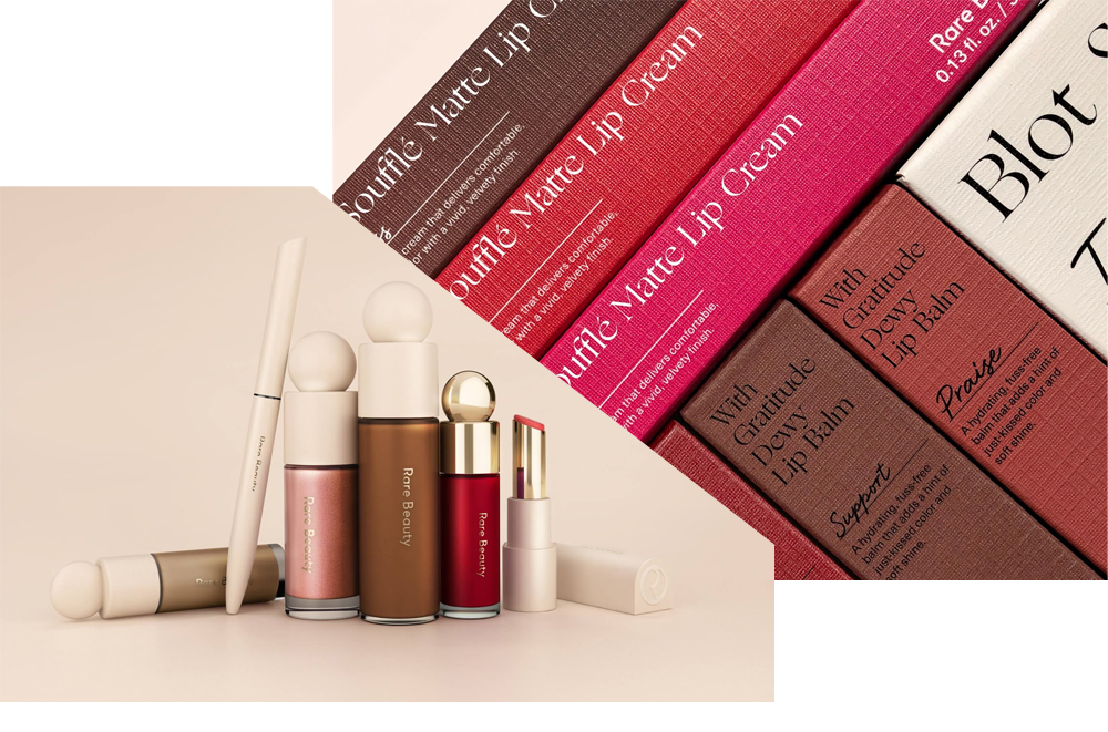 Rare Beauty Cosmetics Packaging