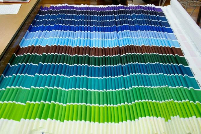 LWR Christchurch NZ Pantone standard colour swatches
