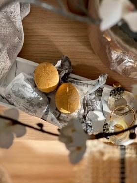 Comment faire des bombes de bain Golden Egg