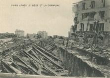 Paris, après le Siège et la Commune