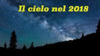 Il cielo del 2018, a cura di Coelum astronomia