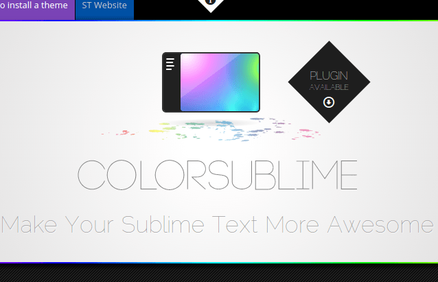 Color Sublime - Mude o tema do Sublime Text