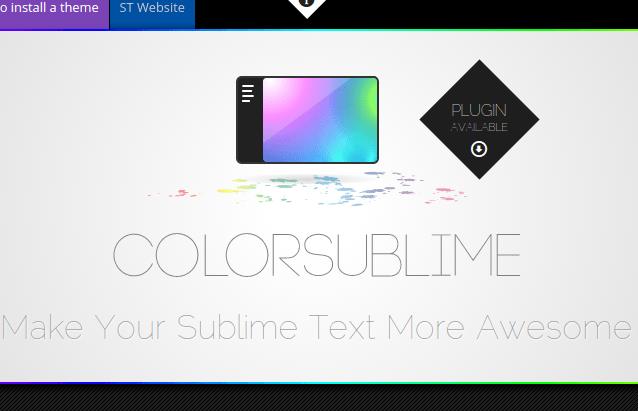 Color Sublime - Mude o tema do Sublime Text