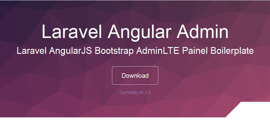 AdminLTE - Personalizado em Laravel + Angularjs...(GRÁTIS)