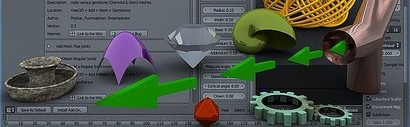 Complementos o Add-ons Blender