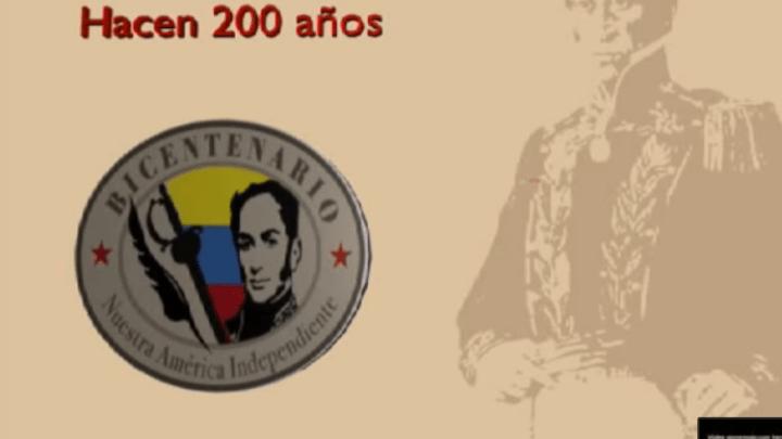 Vídeo Conmemorativo del 19 de Abril de 1810 en Blender