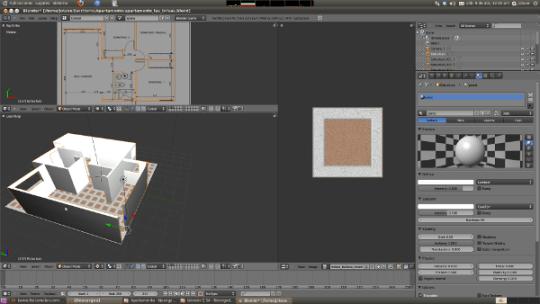 Blender Game Engine, Software Libre y Arquitectura