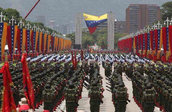 Celebración Bicentenario de Venezuela