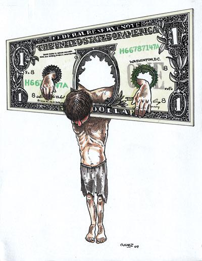 Crisis económica mundial y Galeano