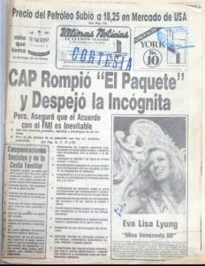 paquetazo venezuela