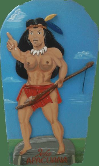 Resistencia Indigena - Jefa Apacuana - Valles del Tuy