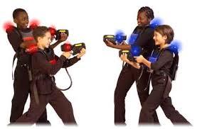 Juegos con pistolas laser