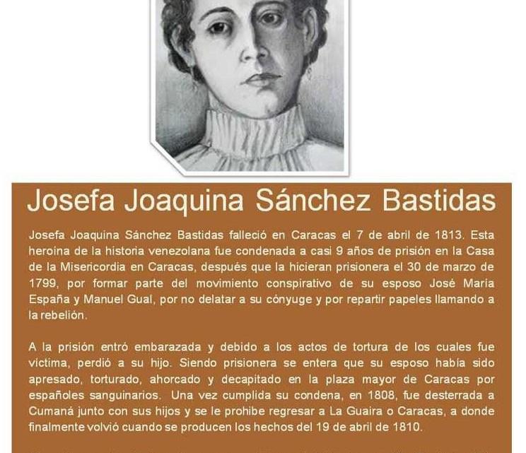 Heroína Josefa Joaquina Sánchez Bastidas