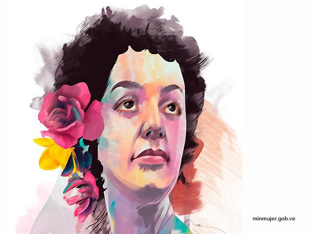 Josefa Camejo heroína independentista de Venezuela