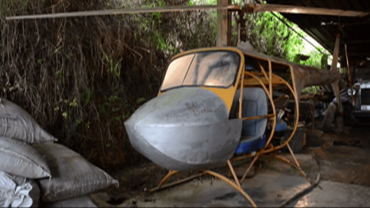 Helicoptero Zambrano