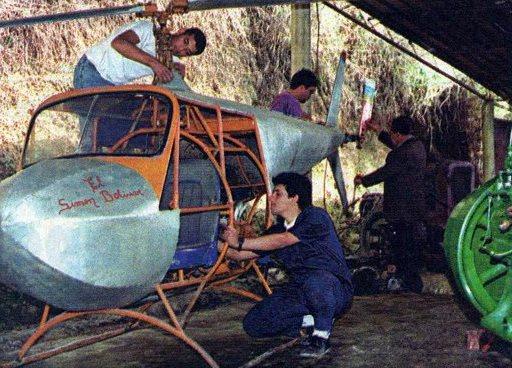 Conozca la historia detrás del primer helicóptero hecho en Venezuela