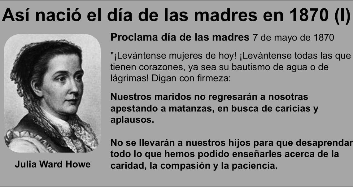 La historia olvidada del Día de la Madre -