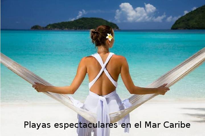 playas espectaculares mar caribe