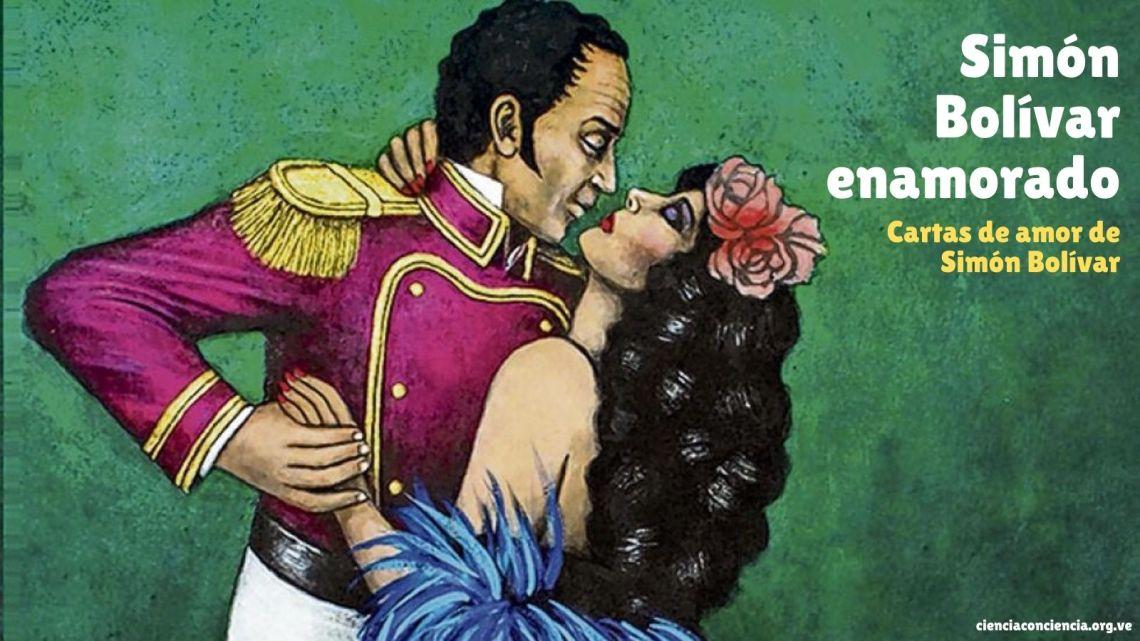 Simón Bolívar enamorado