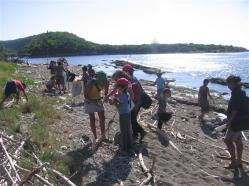 ciencia de cuba_portal de la ciencia cubana_niños y educación ambiental en cuba_limpieza de las costas de santiago de cuba (15)