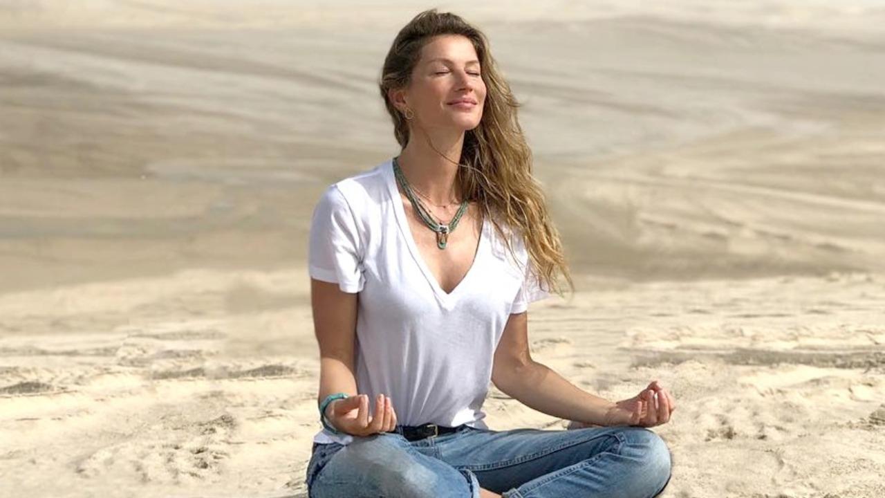 Porque Gisele Bundchen está certa em preferir meditação