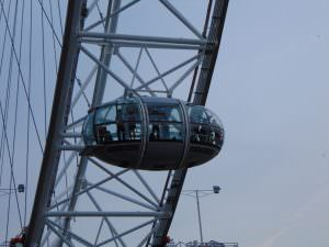 London Eye z bliska