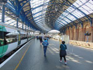 klimatyczna stacja w Brighton