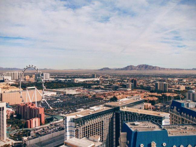 Miasto grzechu w całej okazałości - widok z Wieży