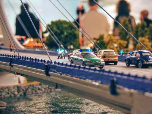 Brawurowe zatrzymanie na moście!