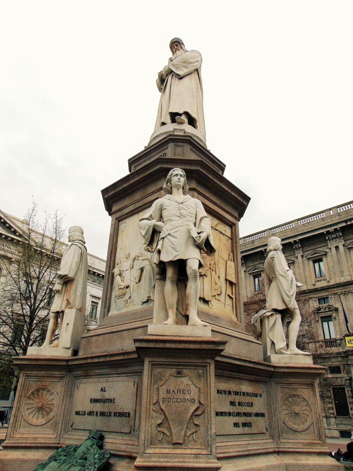 Pomnik Leonarda da Vinci