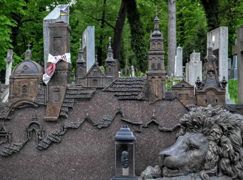 Lwów na cmentarzu Łyczakowskim