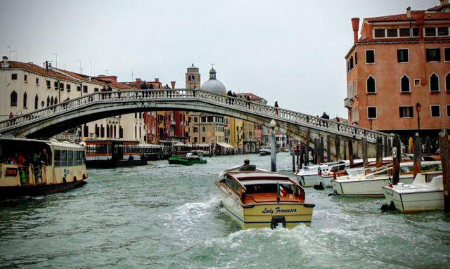 Ponte degli Scalzi - jeden z wielu niezwykłych mostów