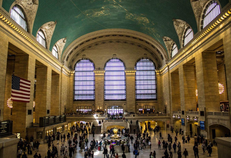 Grand Central Terminal - jedna z większych stacji metra (i nie tylko) w Nowym Jorku