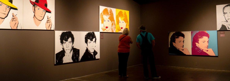 Jedno z wielu pięter w muzeum - poświęcone portretom