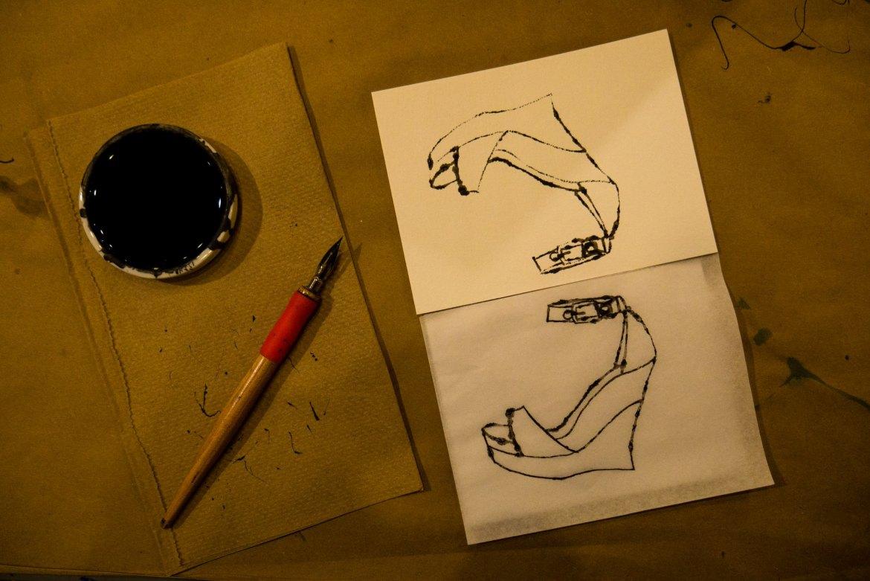 Pierwszy etap: przenoszenie wzoru na papier