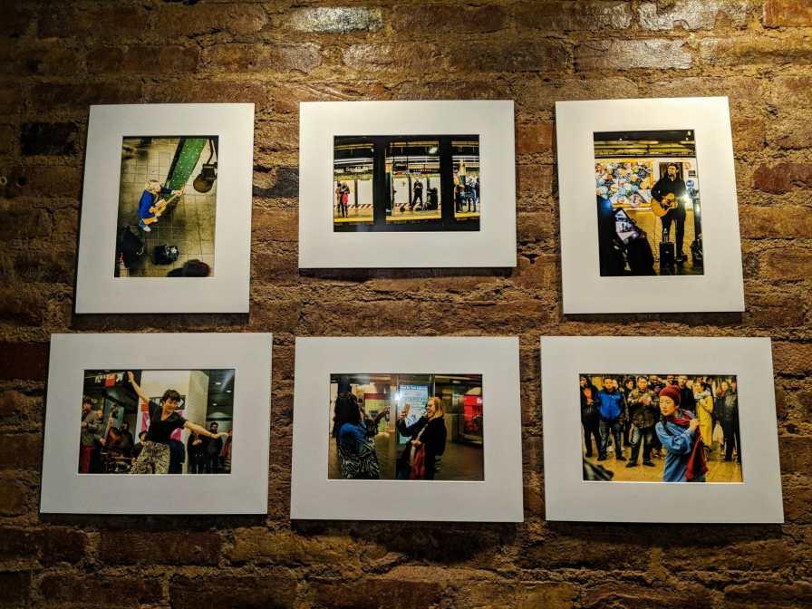 Mój projekt fotograficzny o muzykach z metra w NYC na wystawie zbiorowej w Nowym Jorku