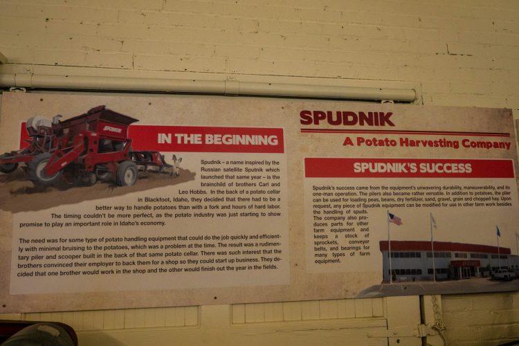 """""""SPUDNIK"""", część interaktywna muzeum ziemniaków"""