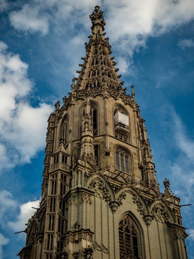 Gotycka katedra w Bernie