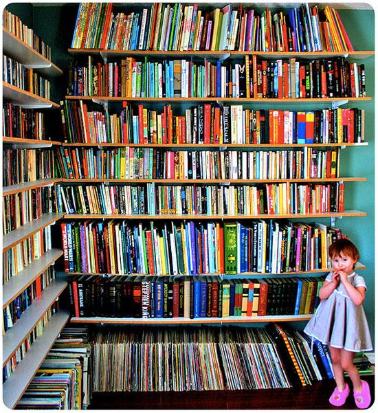 beautiful bookshelves [friday flickr favorites] | ciera design studio
